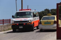 الشرطة : خمس اصابات اثر نزاع بين مواطنين  جنوب نابلس