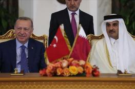 اردوغان : امن تركيا من امن قطر
