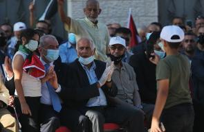 المهرجان الرابع ضد الضم وصفقة القرن في ترمسعيا شمال رام الله