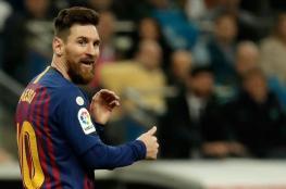 """ميسي يقود برشلونة للتحليق بقمة """"الليغا"""""""