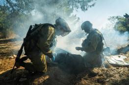 """""""اسرائيل """" تنهي تدريبات مفاجئة  استعداداُ للحرب"""
