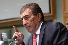 رئيس الكنيست الاسرائيلي مهاجماً رئيس مجلس النواب الأردني : من الأفضل ان تكست
