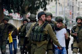 جيش الإحتلال يعتقل خمسة مواطنين من الصفة الغربية