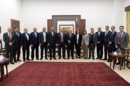 الرئيس يستقبل مجلس إدارة مؤسسة خالد الحسن لأمراض السرطان