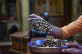 غزة تستهلك 6-7 طن من القهوة يومياً