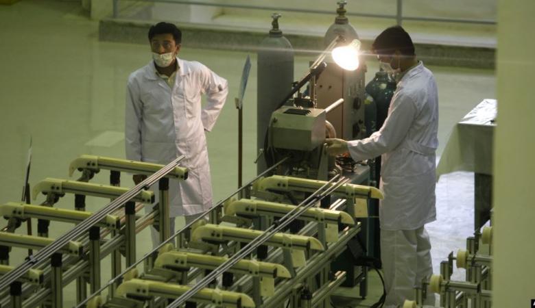 الوكالة الدولية : ايران بدأت بتخصيب اليورانيوم منذ يومين