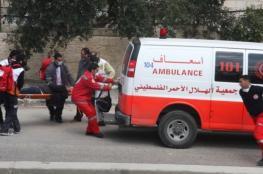 إصابة مواطن بجروح خطيرة بحادث سير غرب جنين
