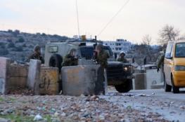 إصابة شاب بجروح بعد الاعتداء عليه بالضرب من قبل الشرطة الاسرائيلية شرق رام الله
