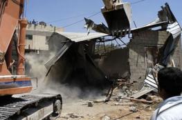 الاحتلال يهدم منزلا قيد الإنشاء في العيسوية شمال القدس