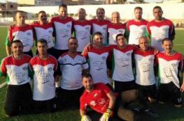 منتخب قدامى فلسطين يحقق فوزين في بطولة تركيا للقدامى