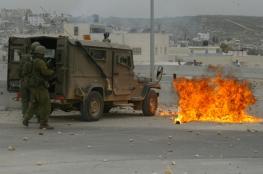 اطلاق نار يستهدف جيباً عسكرياً شمال رام الله