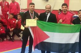 فلسطين تحصد برونزية في البطولة العربية للملاكمة