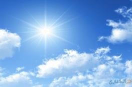 حالة الطقس : درجات الحرارة أعلى من معدلها  بـ10 درجات