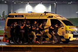 مسلح يقتحم مركز تجاري ويقتل ويجرح 20 شخصاً في تايلند