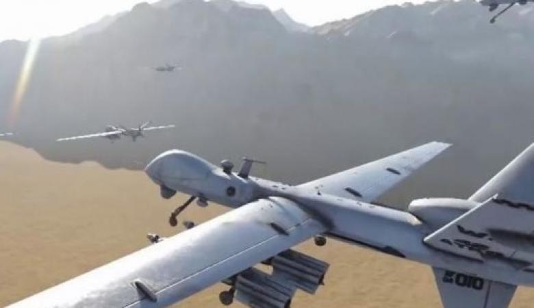 """""""التحالف"""" يسقط طائرة مسيرة أطلقها الحوثيون تجاه السعودية"""