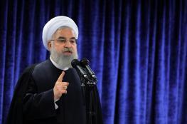 روحاني يتعهد بالرد على استمرار العقوبات بحق ايران