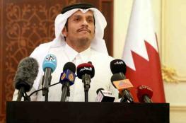 قطر : على اسرائيل ان تتراجع عما تقوم به داخل المسجد الأقصى