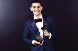 شاكر خزعل لاجئ فلسطيني يحصد الشخصية الشبابية الأكثر تأثيراً في العالم