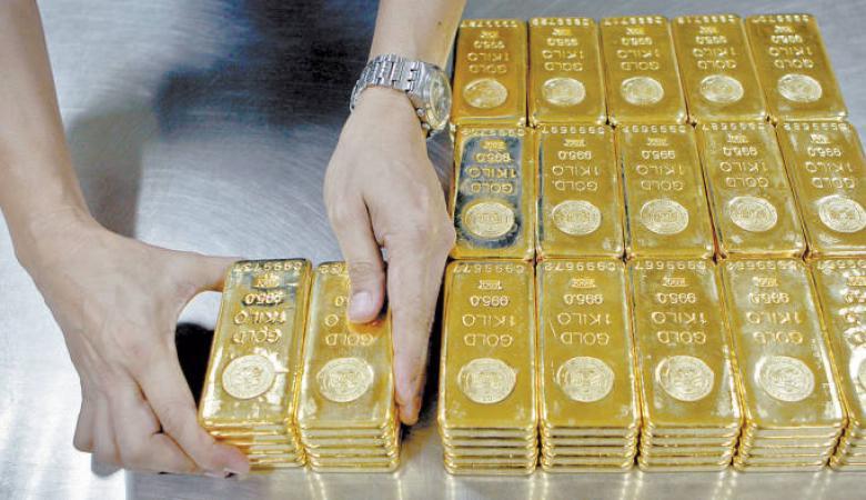 انخفاض على أسعار الذهب