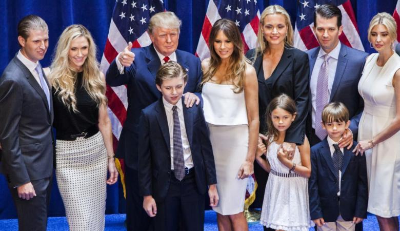 نقل زوجة ابن ترامب للمستشفى بعد فتحها طرداً مجهولاً
