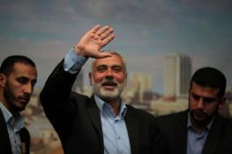 هنية يصل إلى القاهرة للقاء وزير المخابرات المصرية