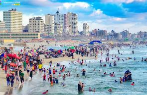 بداية فصل الصيف في قطاع غزة