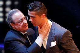 بيريز يعيد رونالدو الى ريال مدريد