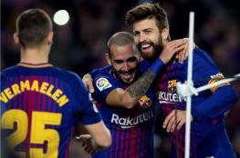 برشلونة يحقق خماسية نظيفة في شباك مورسيا بكأس الملك