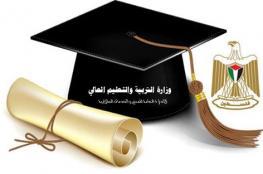 """""""التربية والتعليم العالي"""" تعلن أسماء الطلبة المستفيدين من منحة مجلس الوزراء"""