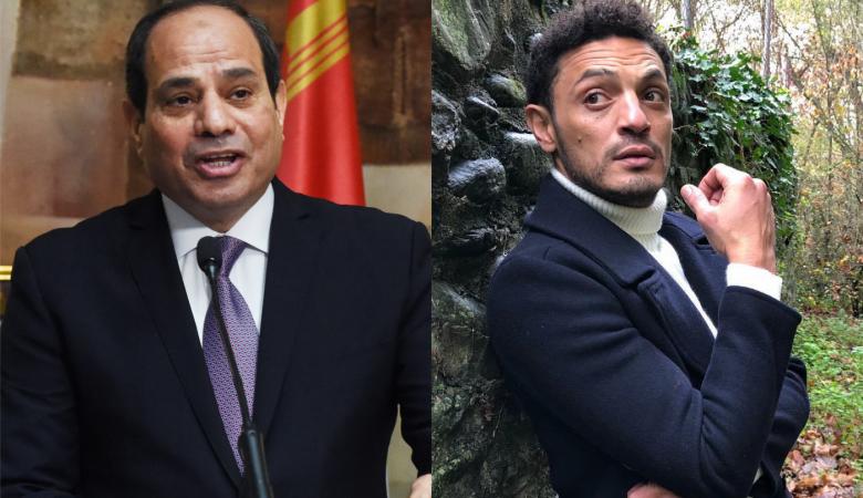 الفنان المصري محمد علي : لن اتوقف الا برحيل السيسي