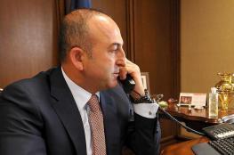 مكالمة لم يكشف عن محتواها ...تركيا تتواصل مع فلسطين بعد المجزرة الاسرائيلية بغزة