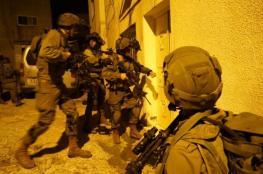 """الاحتلال يعتقل """" 15 """" مواطناً من الضفة الغربية ويصادر اموالاً"""