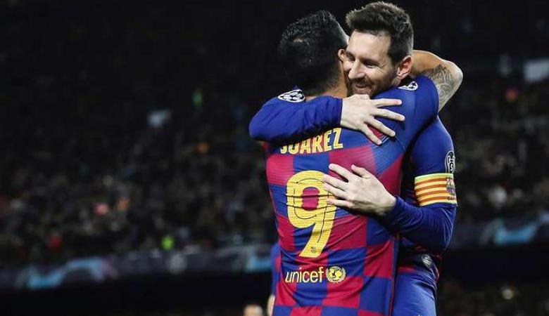 ميسي عن رحيل سواريز عن برشلونة : لم يكن ينبغي ان يطردوك