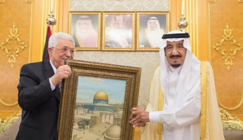 الملك سلمان للرئيس : موقفنا من القضية الفلسطينية لن يتغير