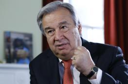 امين عام الامم المتحدة : ساتصدى لأي قانون ينحاز ضد اسرائيل