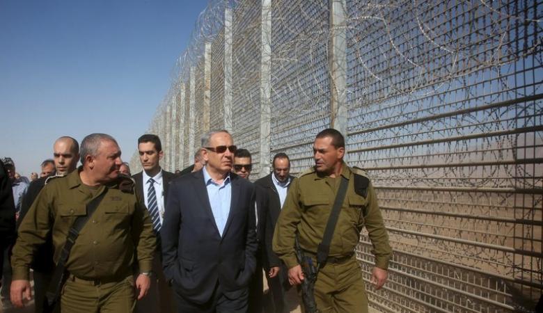 نتنياهو : الجدران التي تحيط باسرائيل تحمينا من المخاطر