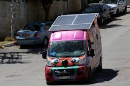 """""""المحروسة"""" مطعم متنقل يعمل على خلايا الطاقة الشمسية"""
