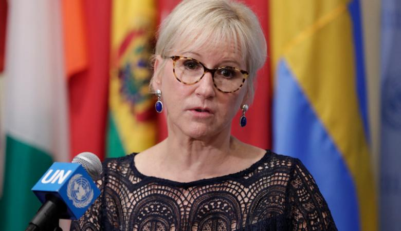 وزيرة خارجية السويد تستقيل من منصبها