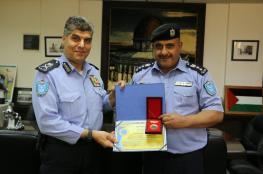 مديرية شرطة رام الله تحصل على جائزة التميز الشرطي