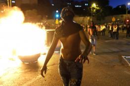 """تظاهرات الاثيوبيين في """"اسرائيل """":  اصابة المئات بجراح واعتقال العشرات"""