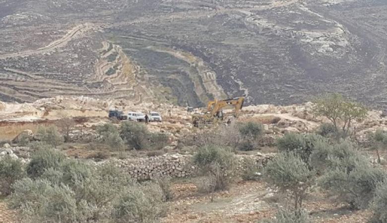 اهالي قرية الزاوية يسترجعون 50 دونما من الاحتلال بعد معركة قضائية استمرت 12 عاما