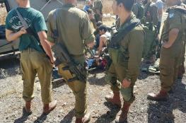 اصابة جندي بجراح بعملية طعن جنوب جنين