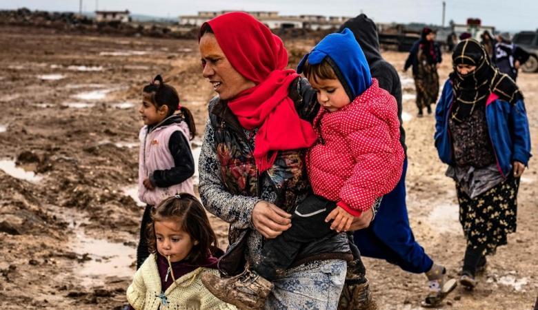 سوريا تشهد اكبر عملية نزوح منذ الحرب العالمية الثانية