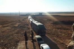 """سوريا : استكمال نقل جميع سكان بلدتي """"كفريا والفوعة """""""