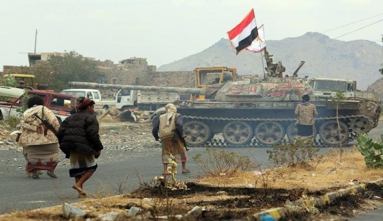 الجيش اليمني يدمر عربة ونفق للحوثيين في الحديدة
