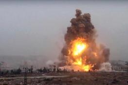 مقتل واصابة العشرات في سوريا بانفجار لغم ارضي