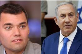 صحفي امريكي لنتنياهو : حقي منك سيصل بعد ان تعتذر لكل فلسطيني