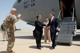 وزير الدفاع الأمريكي في بغداد لتقييم عملية تحرير الموصل
