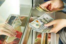 ارتفاع طفيف على سعر صرف الدولار مقابل الشيقل