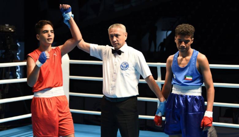 فلسطين تفوز بأول ميدالية ملاكمة قارية